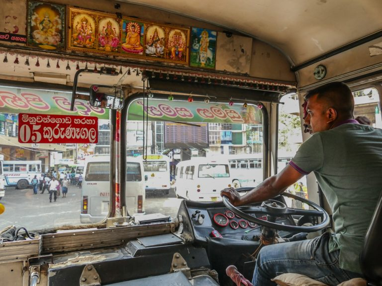 Sri Lanka by bus