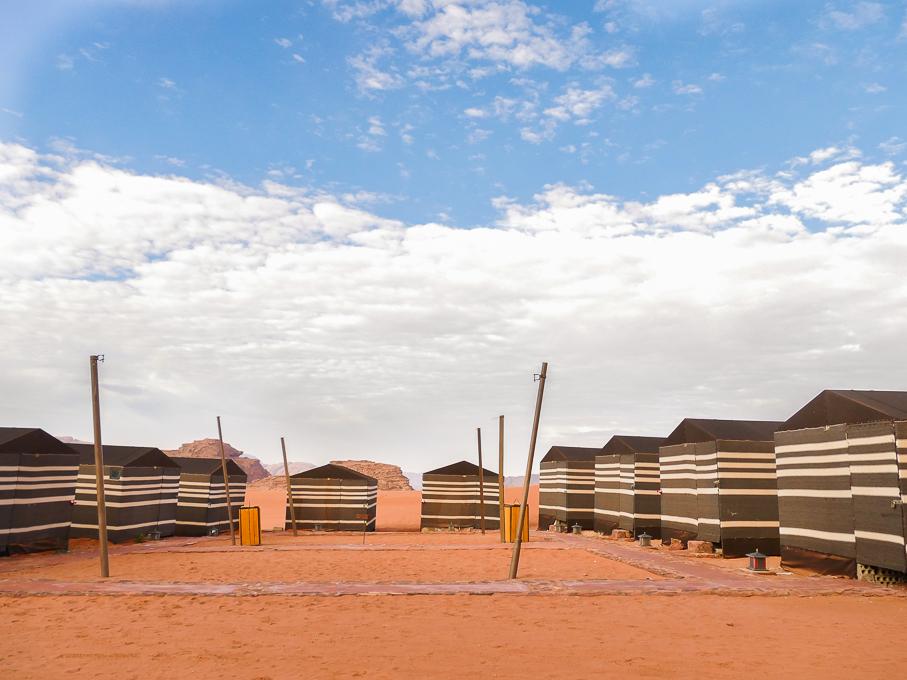 Desert Camp in Wadi Rum
