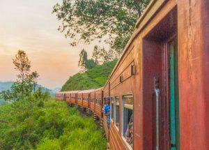 Train journey to Nanu Oya